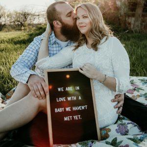 Alyssa Beckerdite and her husband